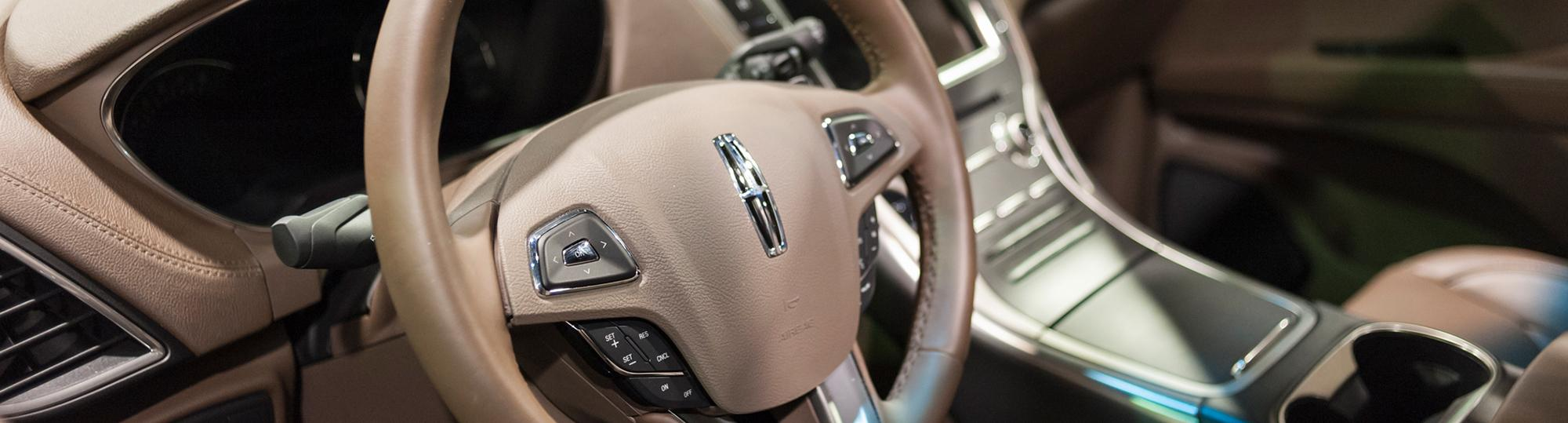 lincoln deal hero interior of car