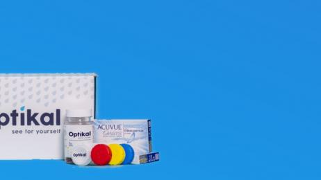 Optikal Contact Care hero