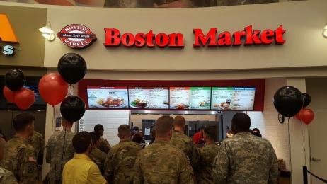 Boston Market Military Discount