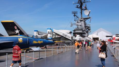 Intrepid Museum Free Military Admission with Veterans Advantage